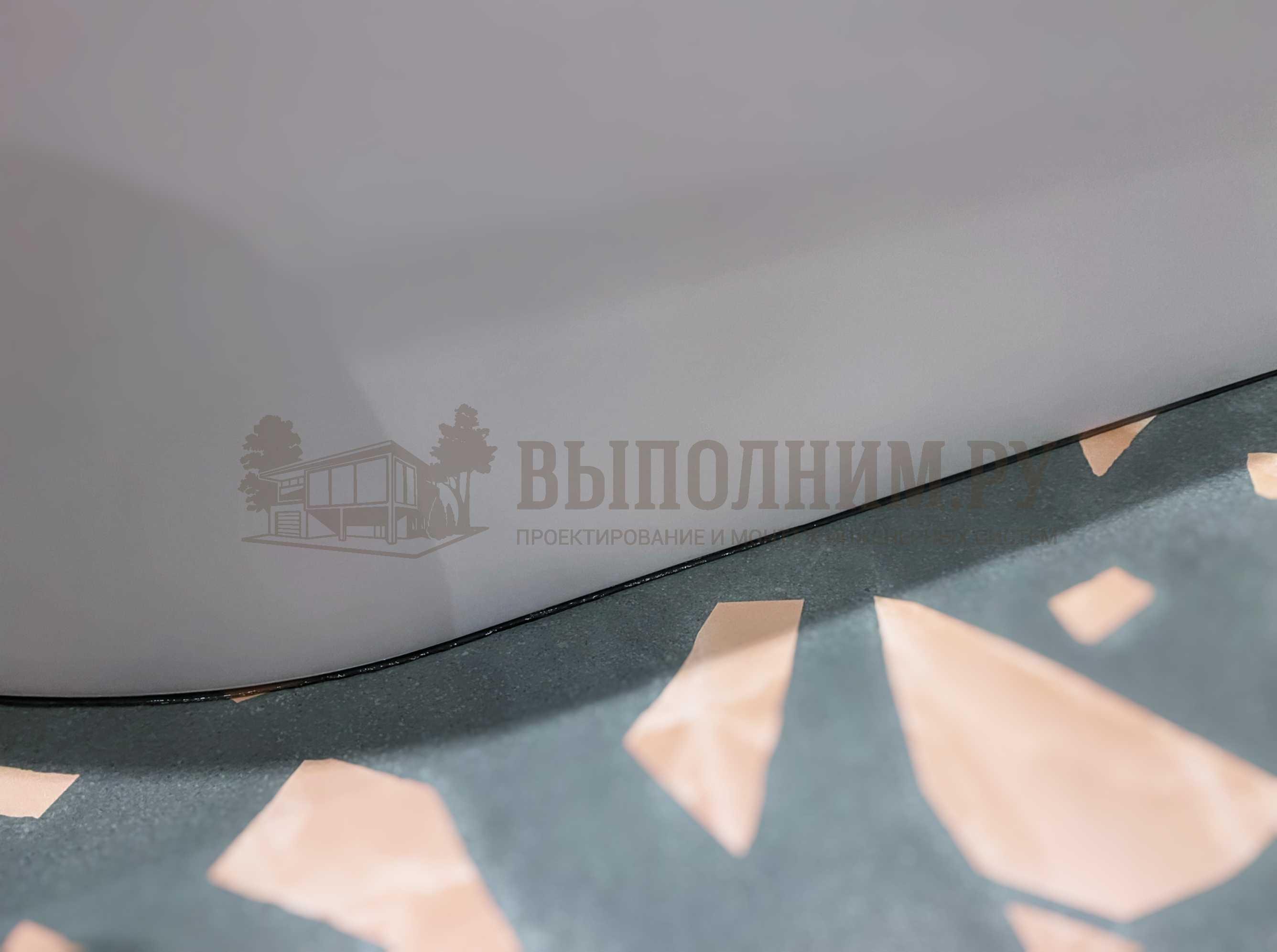 Герметизация ванны прозрачным силиконом